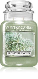 Country Candle Frosty Branches dišeča sveča