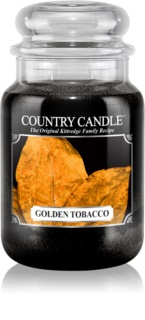 Country Candle Golden Tobacco dišeča sveča
