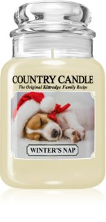 Country Candle Winter's Nap scented candle