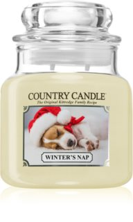 Country Candle Winter's Nap candela profumata