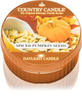 Country Candle Spiced pumpkin Seeds vela do chá