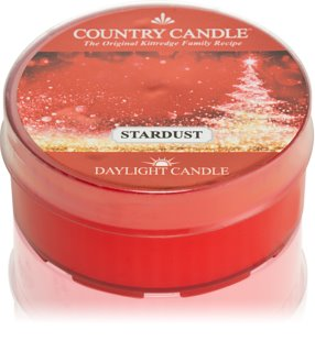 Country Candle Stardust Daylight theelichtje