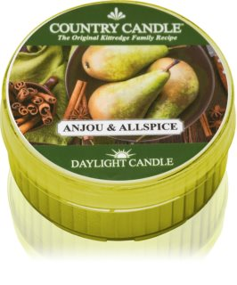 Country Candle Anjou & Allspice tealight candle