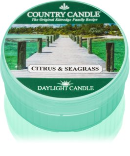 Country Candle Citrus & Seagrass duft-teelicht