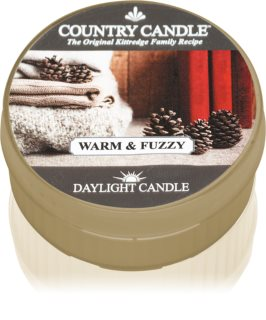 Country Candle Warm & Fuzzy vela de té