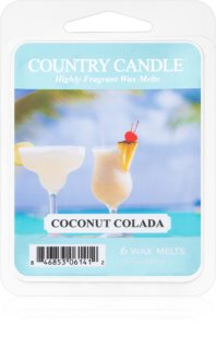 Country Candle Coconut Colada duftwachs für aromalampe