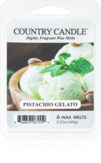 Country Candle Pistachio Gelato wax melt