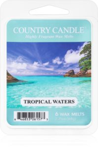 Country Candle Tropical Waters vosak za aroma lampu