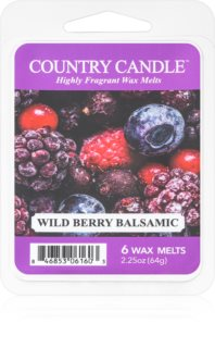 Country Candle Wild Berry Balsamic duftwachs für aromalampe