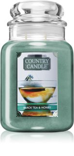 Country Candle Black Tea & Honey scented candle