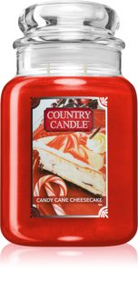 Country Candle Candy Cane Cheescake vonná svíčka