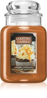 Country Candle Caramel Chocolate vonná svíčka
