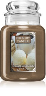 Country Candle Coconut Marshallow doftljus