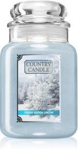 Country Candle Fresh Aspen Snow vonná svíčka