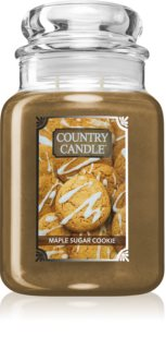 Country Candle Maple Sugar & Cookie vonná svíčka