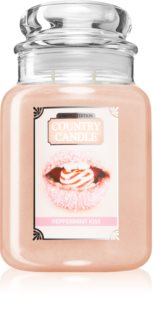 Country Candle Peppermint Kiss vela perfumada