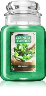Country Candle Fresh Mint duftkerze