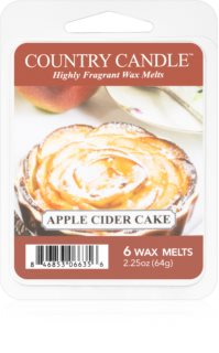 Country Candle Apple Cider Cake κερί για αρωματική λάμπα