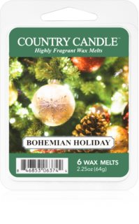 Country Candle Bohemian Holiday восък за арома-лампа
