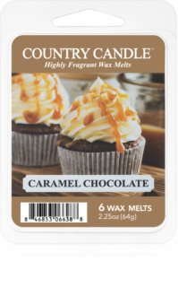 Country Candle Caramel Chocolate vosk do aromalampy