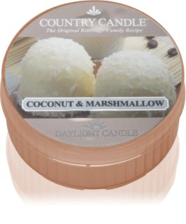 Country Candle Coconut Marshallow candela scaldavivande