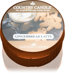 Country Candle Gingerbread Latte candela scaldavivande