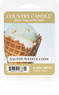 Country Candle Salted Waffle Cone duftwachs für aromalampe 64 g