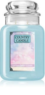 Country Candle Cotton Candy Clouds candela profumata