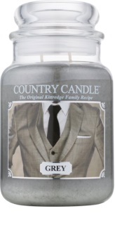 Country Candle Grey doftljus