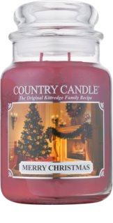 Country Candle Merry Christmas vonná svíčka