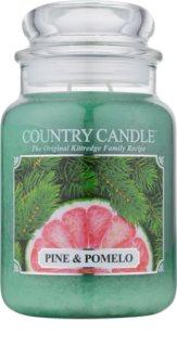 Country Candle Pine & Pomelo vela perfumada