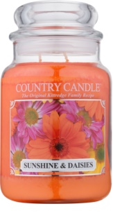 Country Candle Sunshine & Daisies doftljus