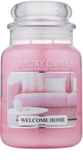 Country Candle Welcome Home dišeča sveča