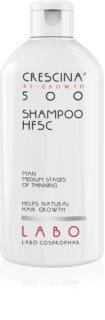 Crescina 500 Re-Growth Shampoo gegen Haarausfall und schütteres Haar für Herren