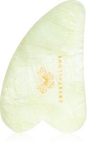 Crystallove Jade Gua Sha Plate accessoire de massage