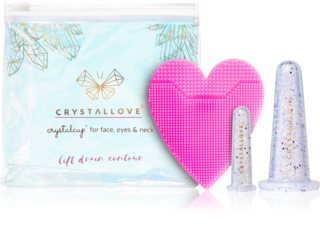 Crystallove Crystalcup козметичен комплект (за лице)