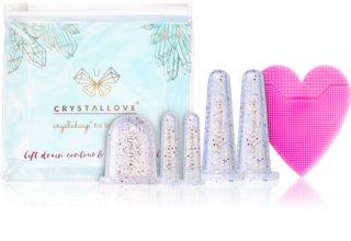 Crystallove Crystalcup козметичен комплект за лице и тяло