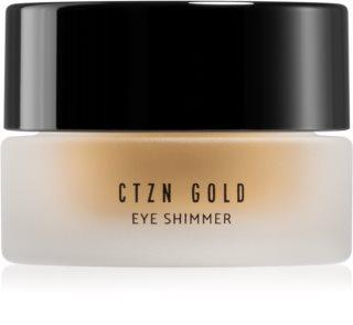 CTZN Gold třpytivé oční stíny