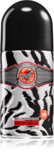 Cuba Jungle Zebra deodorant antiperspirant roll-on pentru femei