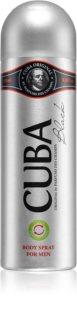 Cuba Black Deodorant Spray für Herren