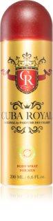 Cuba Royal Deodorant Spray for Men