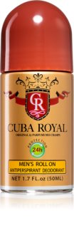Cuba Royal déodorant roll-on pour homme