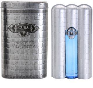 Cuba Prestige Platinum eau de toilette pentru bărbați