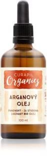 Curapil Organics arganový olej na telo a vlasy