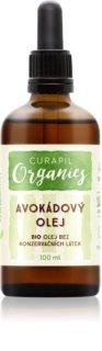 Curapil Organics avokádový olej na telo a vlasy