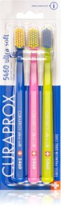 Curaprox 5460 Ultra Soft Toothbrushes, 3 pcs Colour Options 3 kpl