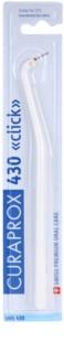 Curaprox Click UHS 430 profesionalno plastično držalo za medzobne ščetke