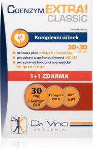 Da Vinci Academia Coenzym EXTRA! Classic doplněk stravy pro podporu srdeční činnosti a energetický metabolismus