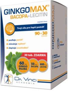 Da Vinci Academia GINKGOMAX +Bacopa doplněk stravy pro podporu soustředění a zlepšení paměti