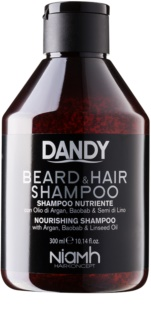 DANDY Beard & Hair Shampoo shampoing cheveux et barbe